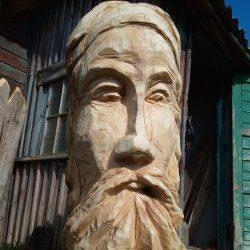 """Усадебная скульптура """"Роздум"""" - миром правит разум"""