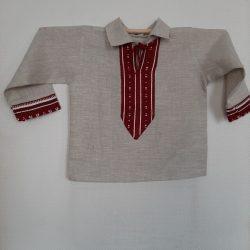 Льняная рубашка для мальчика