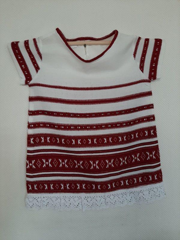 Платье из льна для девочки 1-2 годика