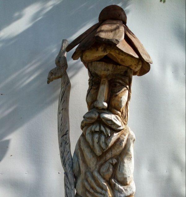 "Скульптура ""Цапля житель усадьбы"""