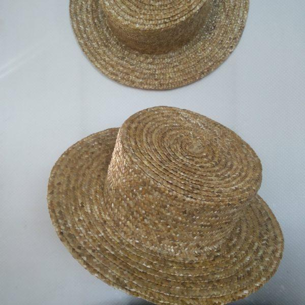 Шляпа мужская соломенная (Брыль)