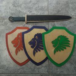 Детский щит и меч
