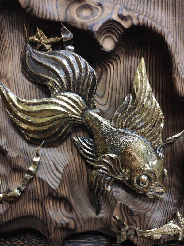 """Панно """"Золотая рыбка"""""""