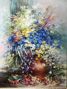 Картина ..Луговые цветы