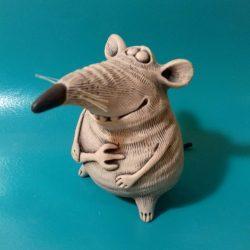 Керамическая крыска