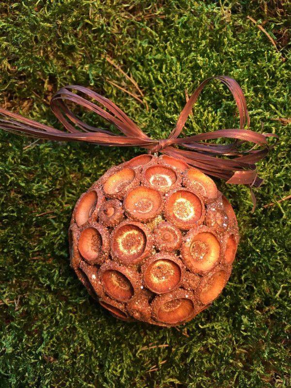 Елочный шар (экодизайн)
