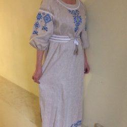 """Платье с  вышивкой """"Женское счастье"""""""