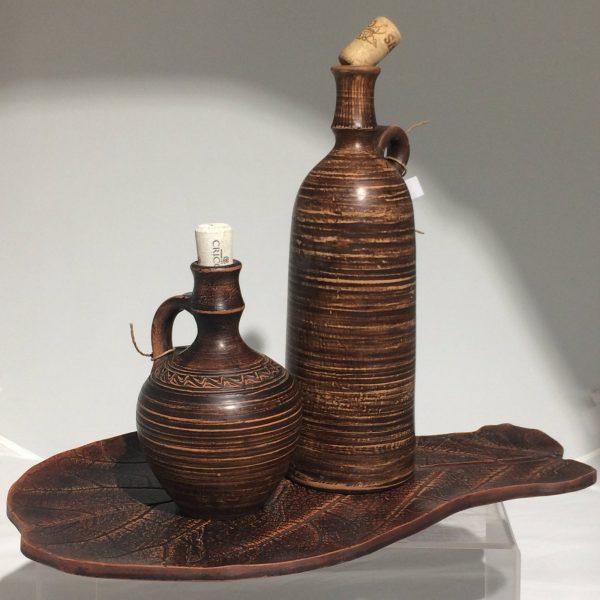Бутыль керамическая