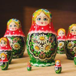 """Матрешка """"Ромашки"""" (10 мест)"""