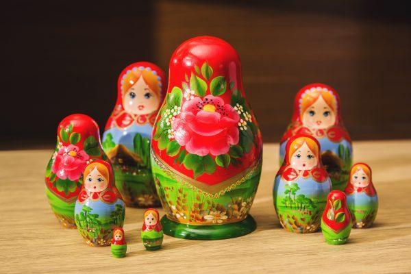 """Матрешка """"Беларусь"""" 10 мест"""