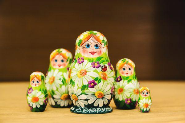 """Матрешка """"Полевые ромашки"""" 10 мест"""