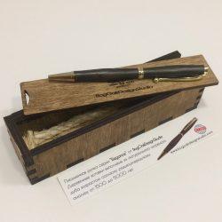 "Ручка ""Elegans PMO1""в корпусе из реликтового мореного дуба"