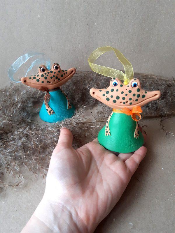 Лягушка- колокольчик