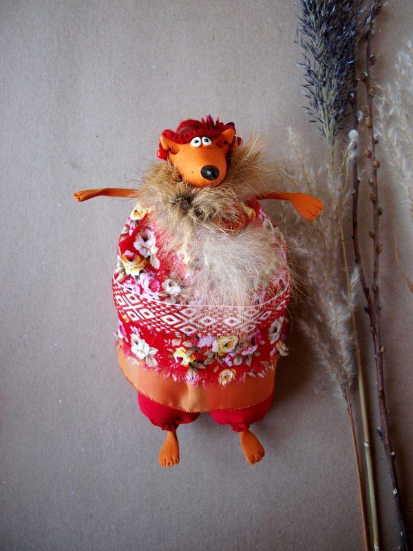Авторская кукла Лиса