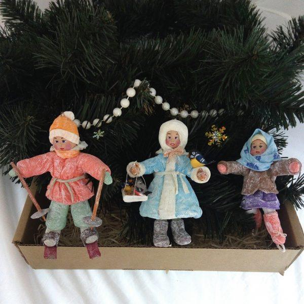 """Новогодние игрушки ручной работы """"Бабушкины вечера"""""""