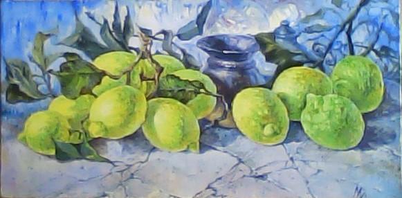 "Картина ""Лимоны"""