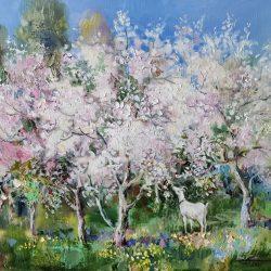 "Картина ""Цветущий сад"""