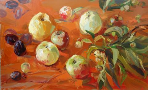 "Картина ""Яблоки"""