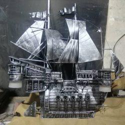 Корабль (художественная ковка)