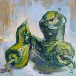 "Картина на подрамнике ""Перец в зеленом"""