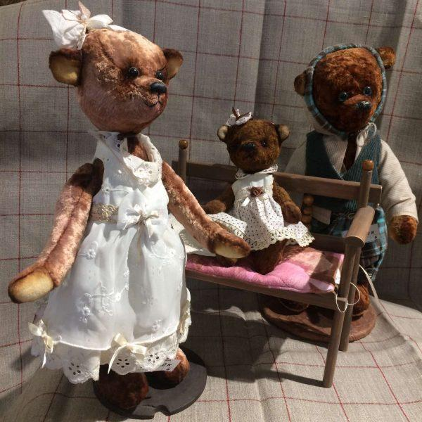 """Коллекционные плюшевые мишки """"Тедди"""""""